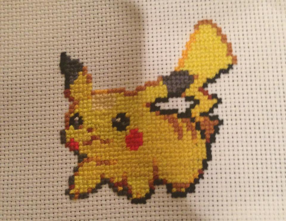 Pikachu by Le'Ann S.