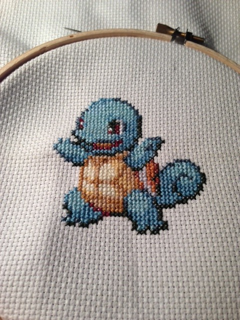 Squirtle by Sarah