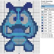 Mario - Frost Goomba